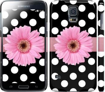 Чехол на Samsung Galaxy S5 g900h Горошек 2