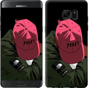 Чехол на Samsung Galaxy Note 7 Duos N930F logo de yeezy