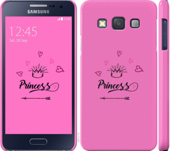 Чехол на Samsung Galaxy A3 A300H Princess