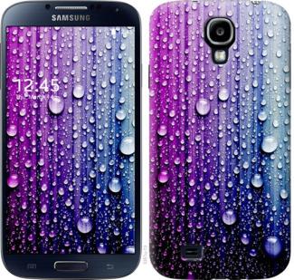 Чехол на Samsung Galaxy S4 i9500 Капли воды