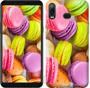 Чехол на Samsung Galaxy A6s Макаруны