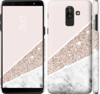 Чехол на Samsung Galaxy J8 2018 Пастельный мрамор