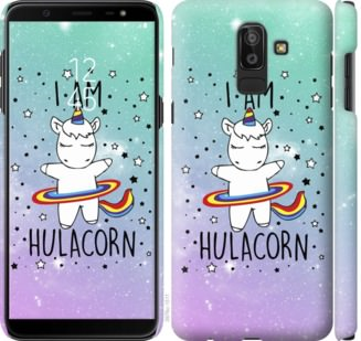 Чехол на Samsung Galaxy J8 2018 Im hulacorn