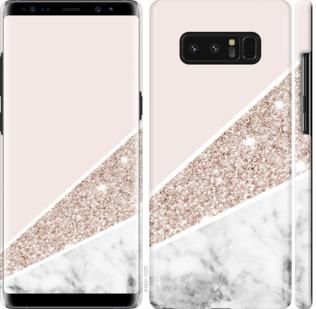 Чехол на Samsung Galaxy Note 8 Пастельный мрамор
