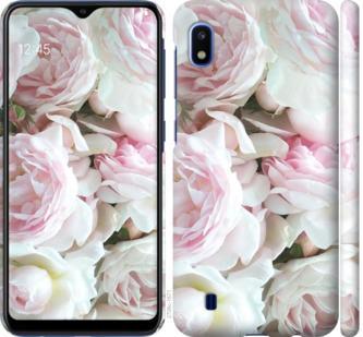 Чехол на Samsung Galaxy A10 2019 A105F Пионы v2