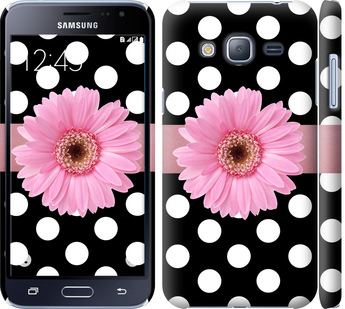 Чехол на Samsung Galaxy J3 Duos (2016) J320H Горошек 2
