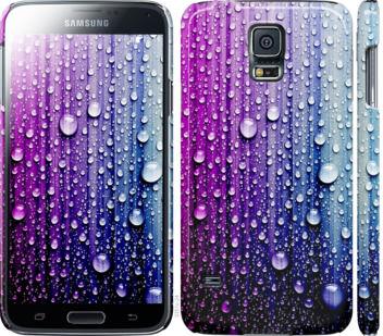 Чехол на Samsung Galaxy S5 g900h Капли воды