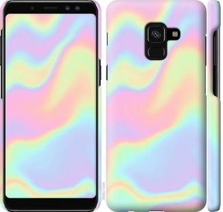 Чехол на Samsung Galaxy A8 2018 A530F пастель