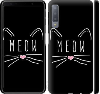 Чехол на Samsung Galaxy A7 (2018) A750F Kitty