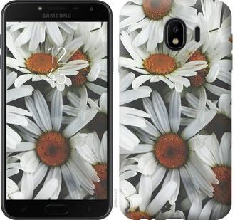 Чехол на Samsung Galaxy J4 2018 Ромашки v2