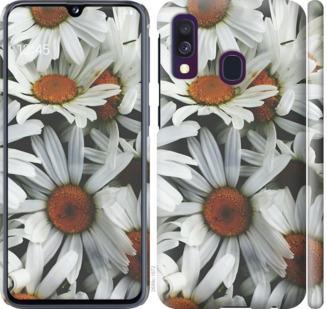 Чехол на Samsung Galaxy A40 2019 A405F Ромашки v2