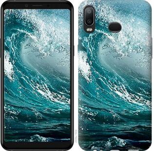 Чехол на Samsung Galaxy A6s Морская волна