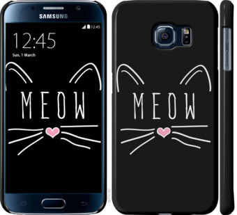 Чехол на Samsung Galaxy S6 G920 Kitty