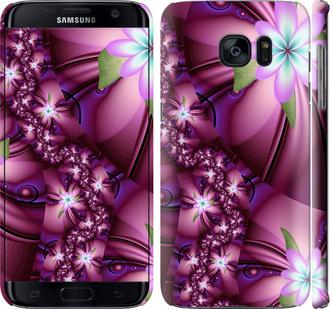 Чехол на Samsung Galaxy S7 Edge G935F Цветочная мозаика