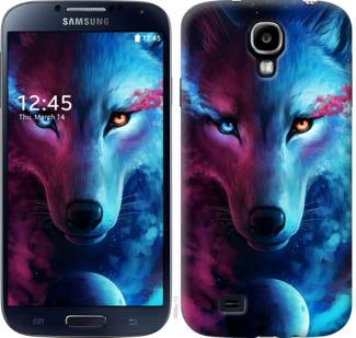 Чехол на Samsung Galaxy S4 i9500 Арт-волк