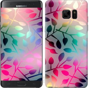 Чехол на Samsung Galaxy Note 7 Duos N930F Листья