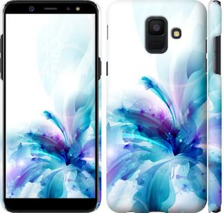Чехол на Samsung Galaxy A6 2018 цветок