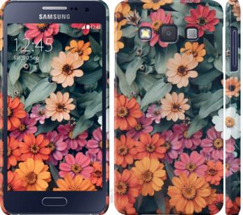 Чехол на Samsung Galaxy A3 A300H Beauty flowers