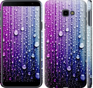 Чехол на Samsung Galaxy J4 Plus 2018 Капли воды