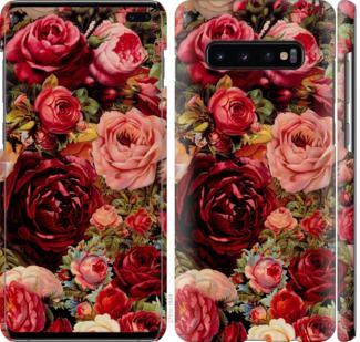 Чехол на Samsung Galaxy S10 Plus Цветущие розы
