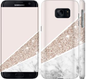 Чехол на Samsung Galaxy S7 G930F Пастельный мрамор