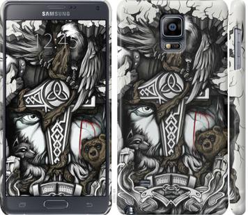 Чехол на Samsung Galaxy Note 4 N910H Тату Викинг