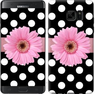 Чехол на Samsung Galaxy Note 7 Duos N930F Горошек 2