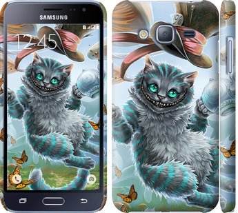 Чехол на Samsung Galaxy J3 Duos (2016) J320H Чеширский кот 2