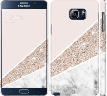 Чехол на Samsung Galaxy Note 5 N920C Пастельный мрамор