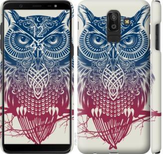 Чехол на Samsung Galaxy J8 2018 Сова 2