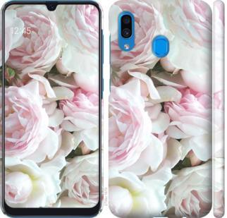 Чехол на Samsung Galaxy A20 2019 A205F Пионы v2
