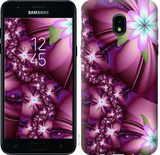 Чехол на Samsung Galaxy J3 2018 Цветочная мозаика