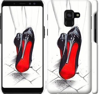 Чехол на Samsung Galaxy A8 2018 A530F Devil Wears Louboutin