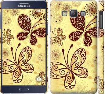 Чехол на Samsung Galaxy A7 A700H Красивые бабочки