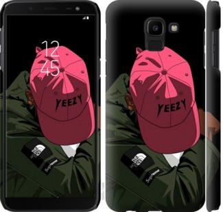 Чехол на Samsung Galaxy J6 2018 logo de yeezy