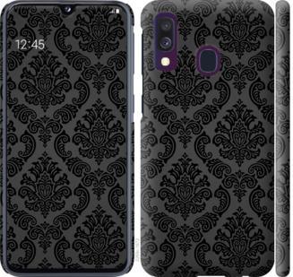 Чехол на Samsung Galaxy A40 2019 A405F Винтажный узор