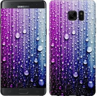 Чехол на Samsung Galaxy Note 7 Duos N930F Капли воды