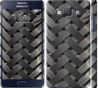 Чехол на Samsung Galaxy A5 A500H Металлические фоны