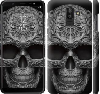 Чехол на Samsung Galaxy J8 2018 skull-ornament