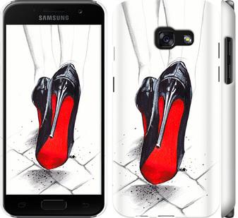 Чехол на Samsung Galaxy A3 (2017) Devil Wears Louboutin