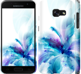 Чехол на Samsung Galaxy A3 (2017) цветок