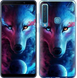 Чехол на Samsung Galaxy A9 (2018) Арт-волк