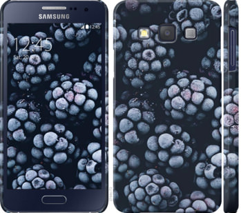 Чехол на Samsung Galaxy A3 A300H Морозная ежевика