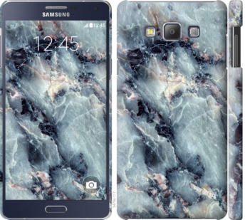 Чехол на Samsung Galaxy A7 A700H Мрамор