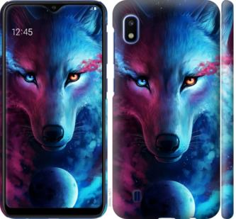 Чехол на Samsung Galaxy A10 2019 A105F Арт-волк