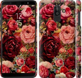 Чехол на Samsung Galaxy J8 2018 Цветущие розы