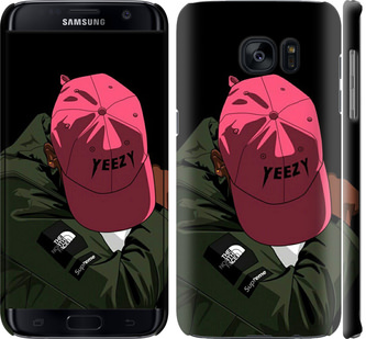 Чехол на Samsung Galaxy S7 Edge G935F logo de yeezy
