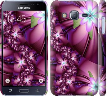 Чехол на Samsung Galaxy J3 Duos (2016) J320H Цветочная мозаика