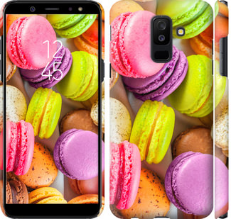 Чехол на Samsung Galaxy A6 Plus 2018 Макаруны