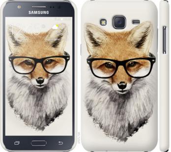 Чехол на Samsung Galaxy J5 (2015) J500H Лис в очках